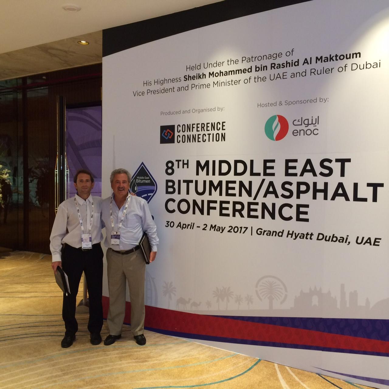 8va CONFERENCIA de BITUMEN y ASFALTO | Medio Oriente