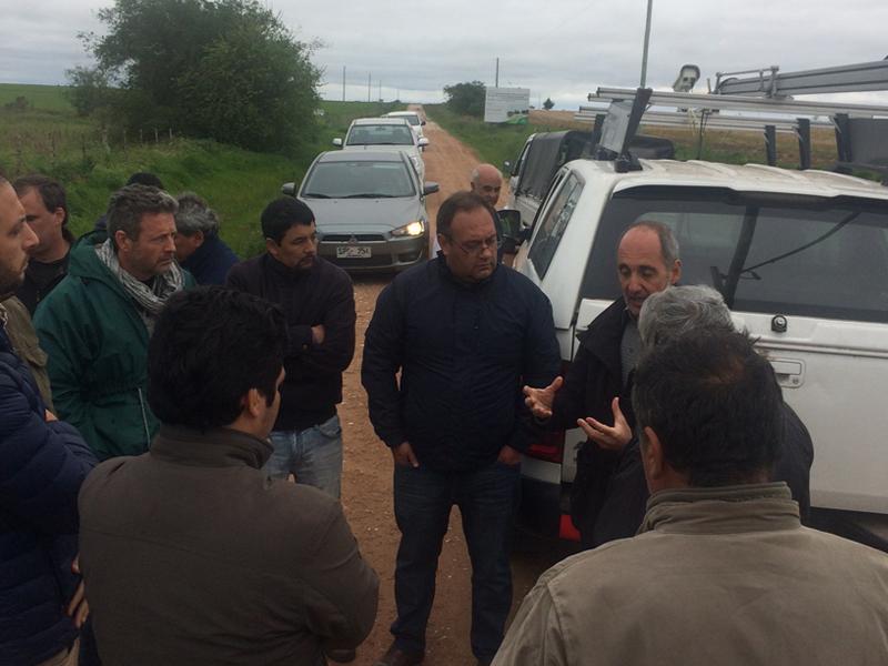INAUGURACIÓN TRAMO CON TECNOLOGÍAS DE ESTABILIZACIÓN DE CAMINOS