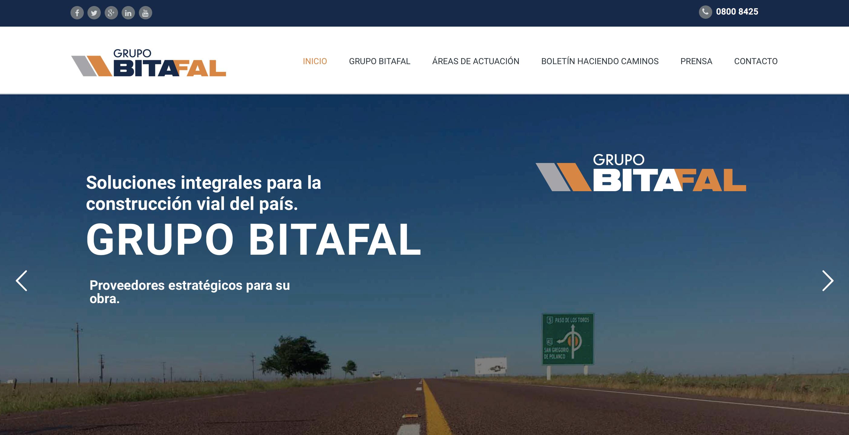NUEVA PAGINA WEB DEL GRUPO BITAFAL