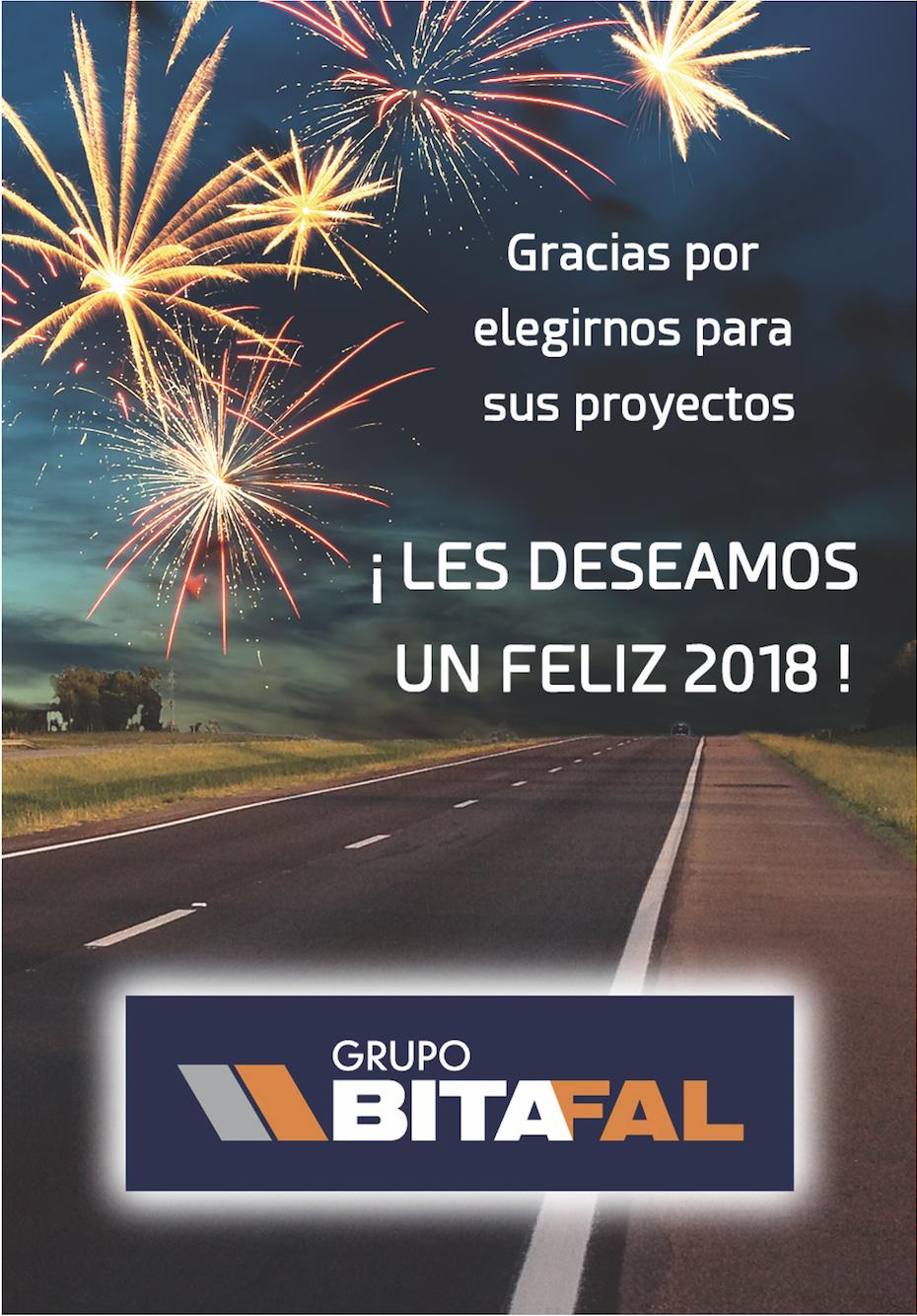 FELICES FIESTAS Y EXITOS PARA EL 2018