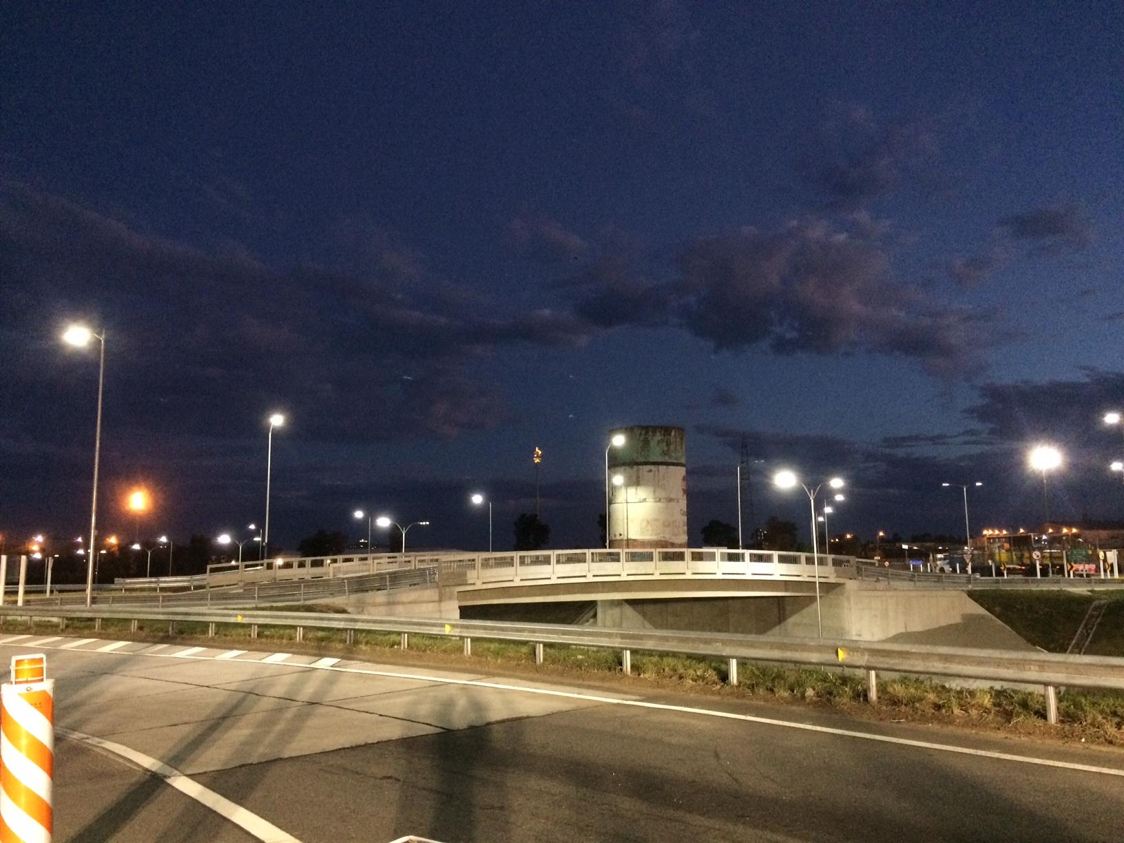 Inauguración intercambiador Ruta 1