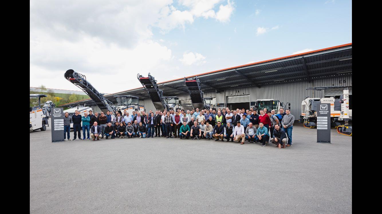 """Grupo Bitafal participó en los """"Technology Days"""" de Wirtgen Group."""