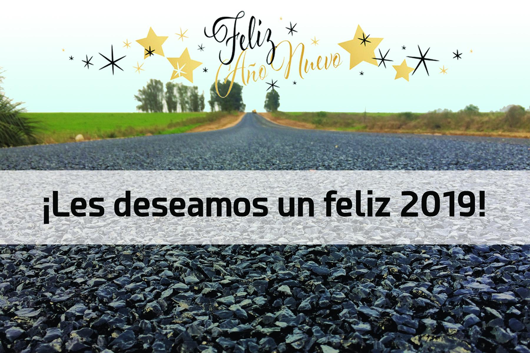 FELICES FIESTAS Y EXITOS PARA EL 2019