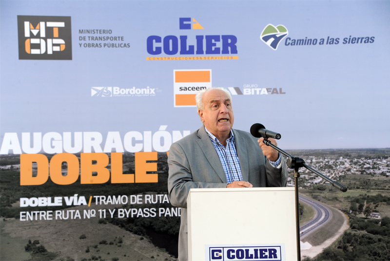INAUGURACIÓN DOBLE VIA RUTA 8