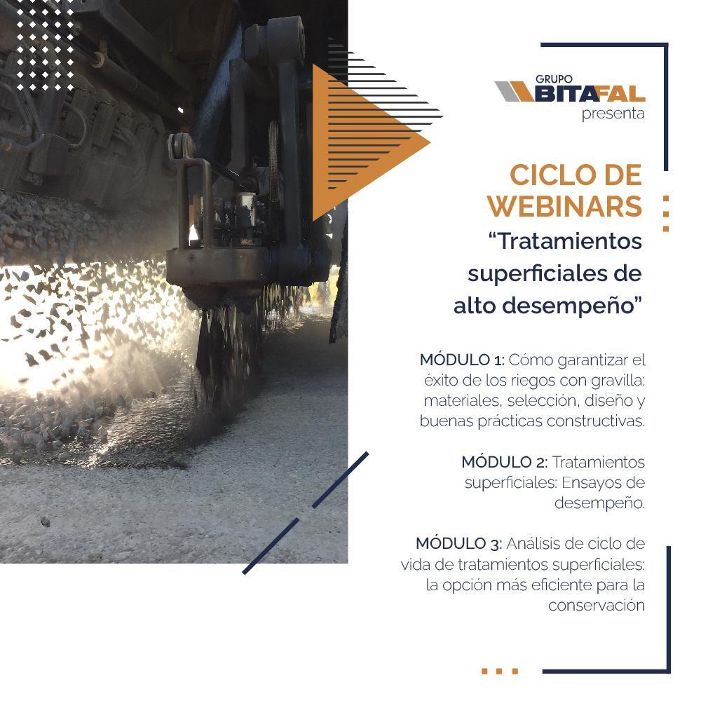 CICLO DE WEBINARS DE GRUPO BITAFAL