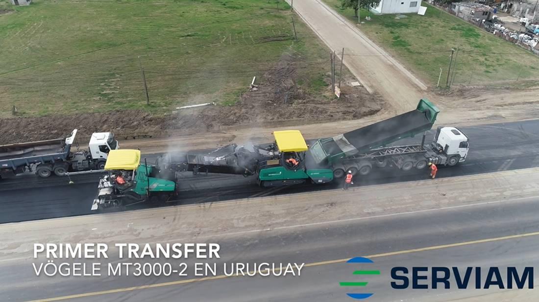 SERVIAM INCORPORA NUEVO EQUIPO DE TRANSFERENCIA DE MEZCLAS